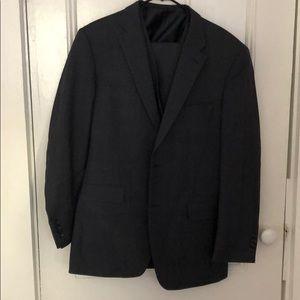 {Jones New York}  grey suit with vest